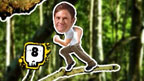 Steve Backshall in Deadly Scramble game